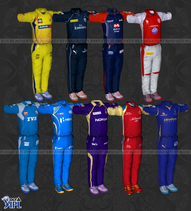 Ntr Ipl Add Download: Ea Sports Cricket 07 Patches: Ipl 5 Kits