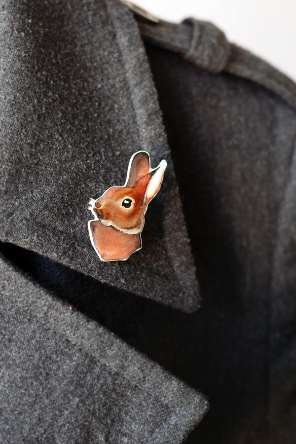 aliciasivert, Naomi Heulwen, jewellry, rabbit, kanin