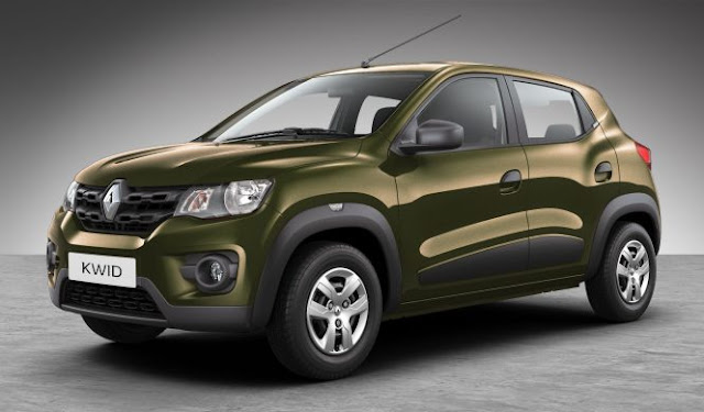 Renault Kwid Available Colours on honda 125 in red colour