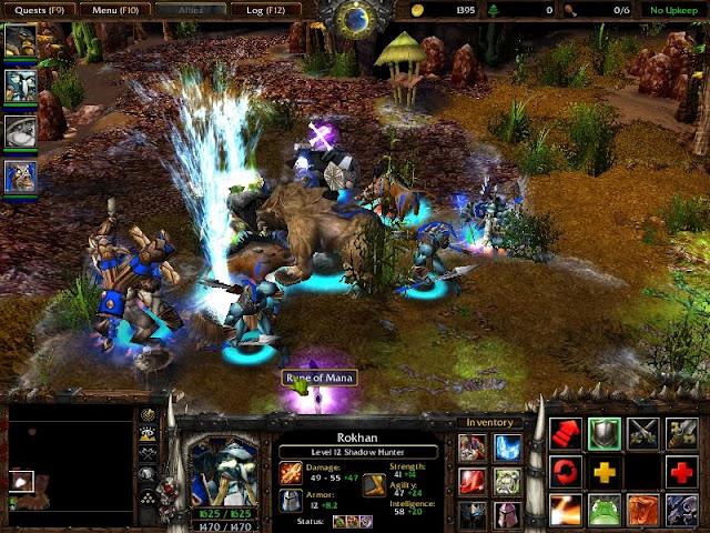 WarCraft 3, Dota, Garena, Патч, Гарена, Дота, Карты. third age total war ск
