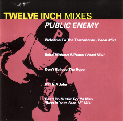 Public Enemy – Twelve Inch Mixes (CD) (1993) (320 kbps)