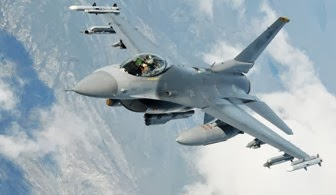 Daftar Pemakai Pesawat Tempur F-16 di Seluruh Dunia