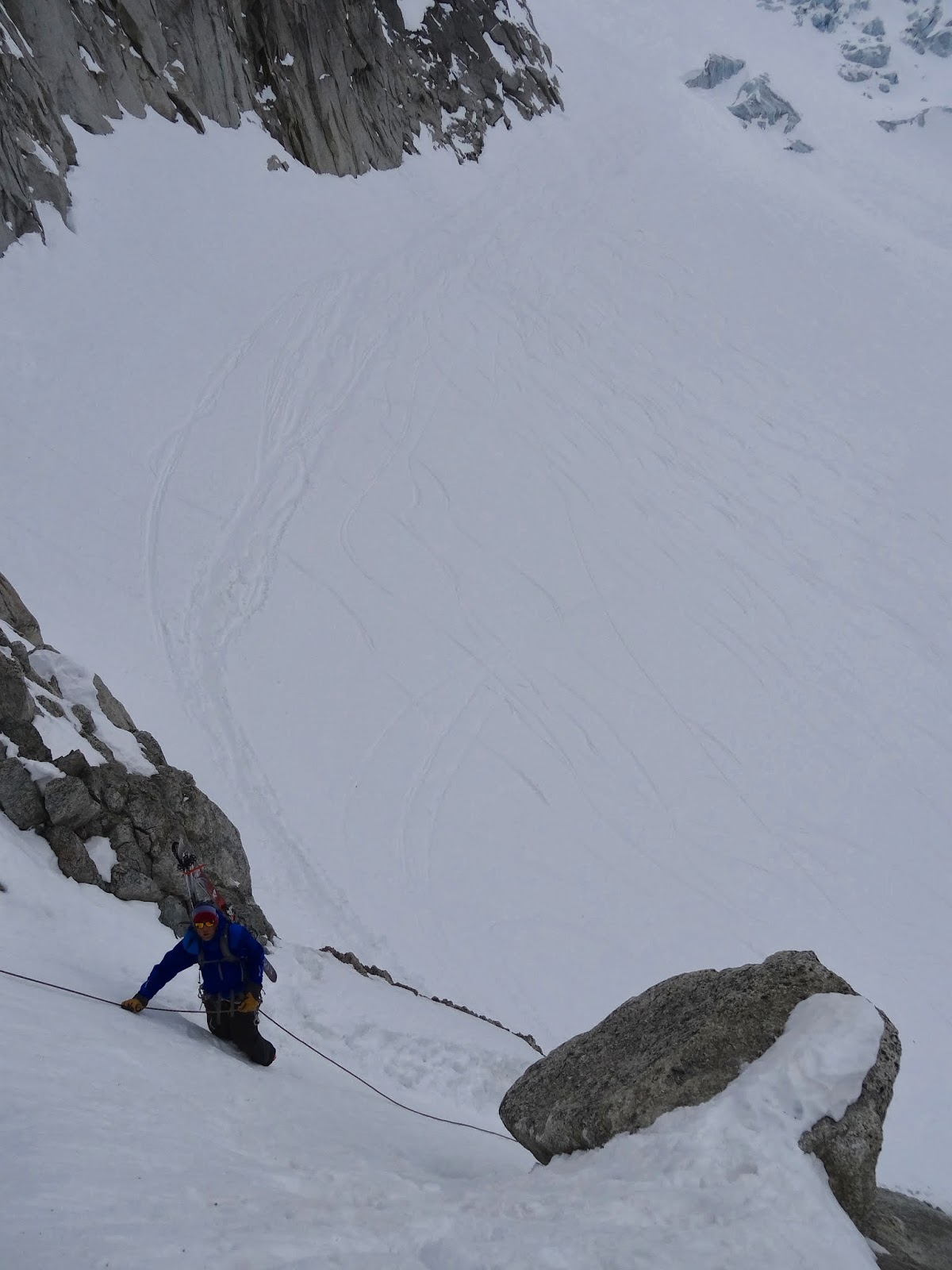 Chamonix climbing and skiing conditions grand montets to for Hotel du col de fenetre