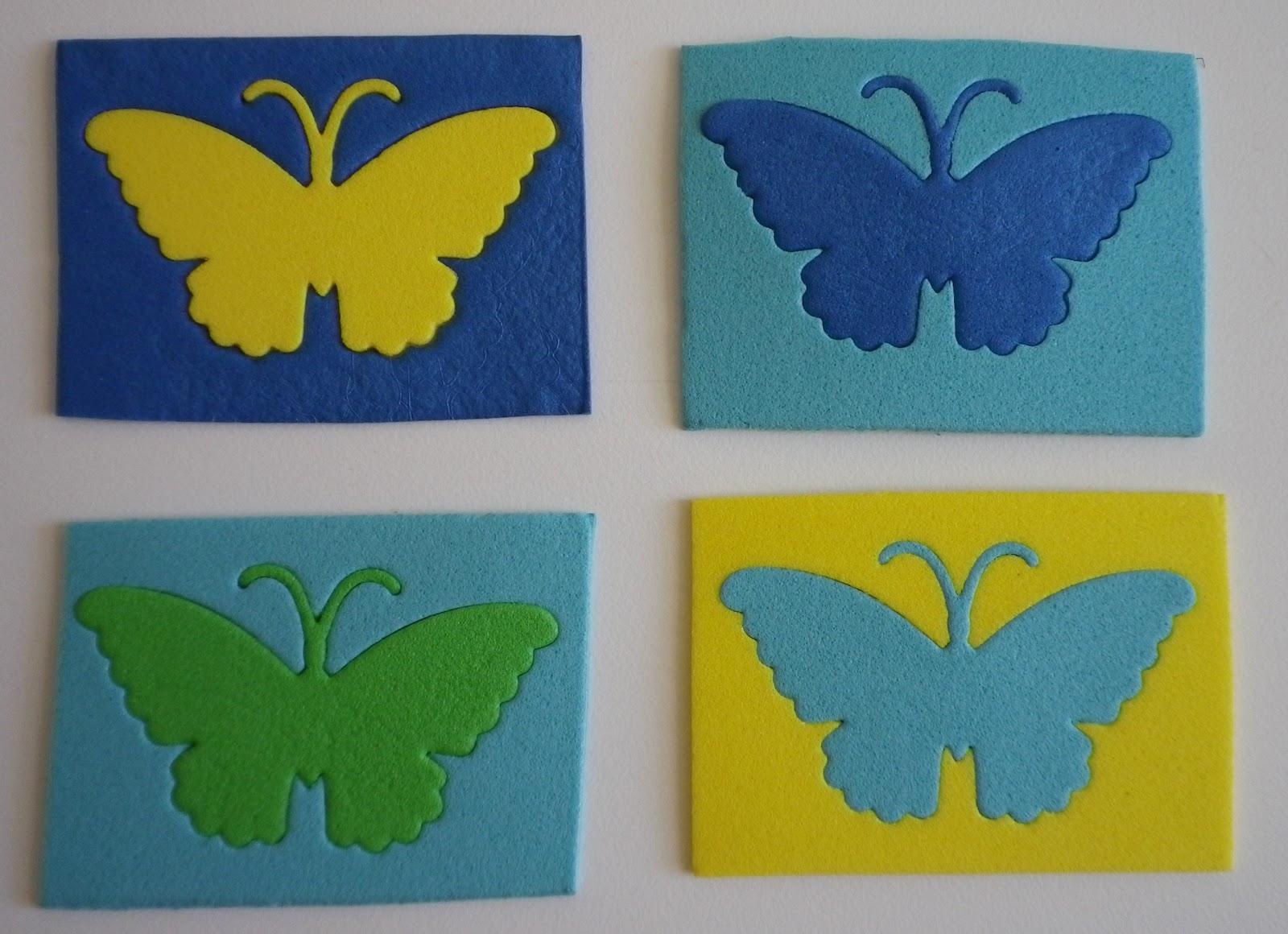 Como hacer una mariposa en goma eva imagui - Como hacer mariposas de goma eva ...
