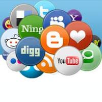 как поставить красивые социальные кнопки в блог blogspot