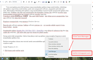 task manager di windows 8