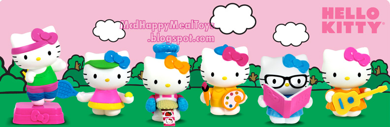 Hello Kitty Happy Meal Toys : Happy meal toys collection fan site transformers prime