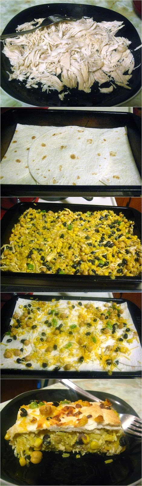 Bean & Honey Burrito Casserole