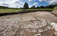 Rockbourne Roman Villa New Forest Hampshire UK