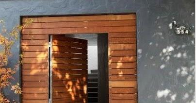 Fotos y dise os de puertas dise os puertas de madera for Disenos de puertas de madera para exterior