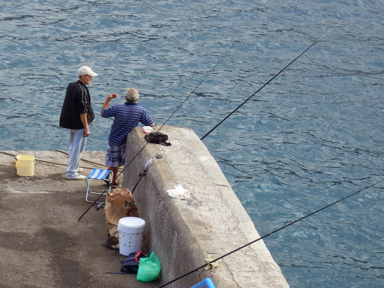 Fishermen at San Juan Tenerife!