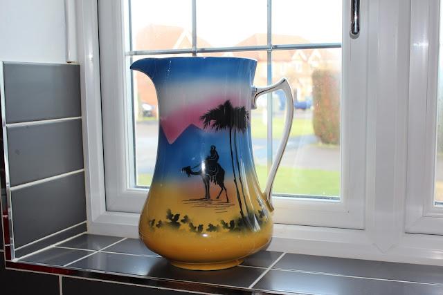 ugly jug, camel jug, antique jug, retro jug, vintage jug