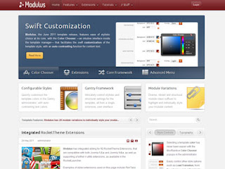 Modulus - Joomla Template June 2011
