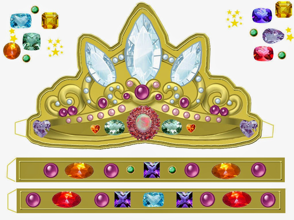 Корона принца своими руками шаблон