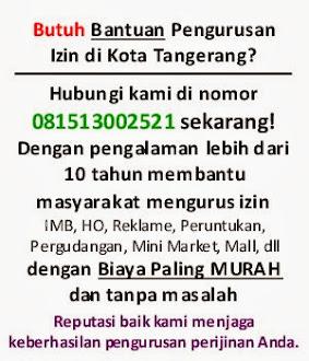 Jasa Pembuatan IMB Tangerang