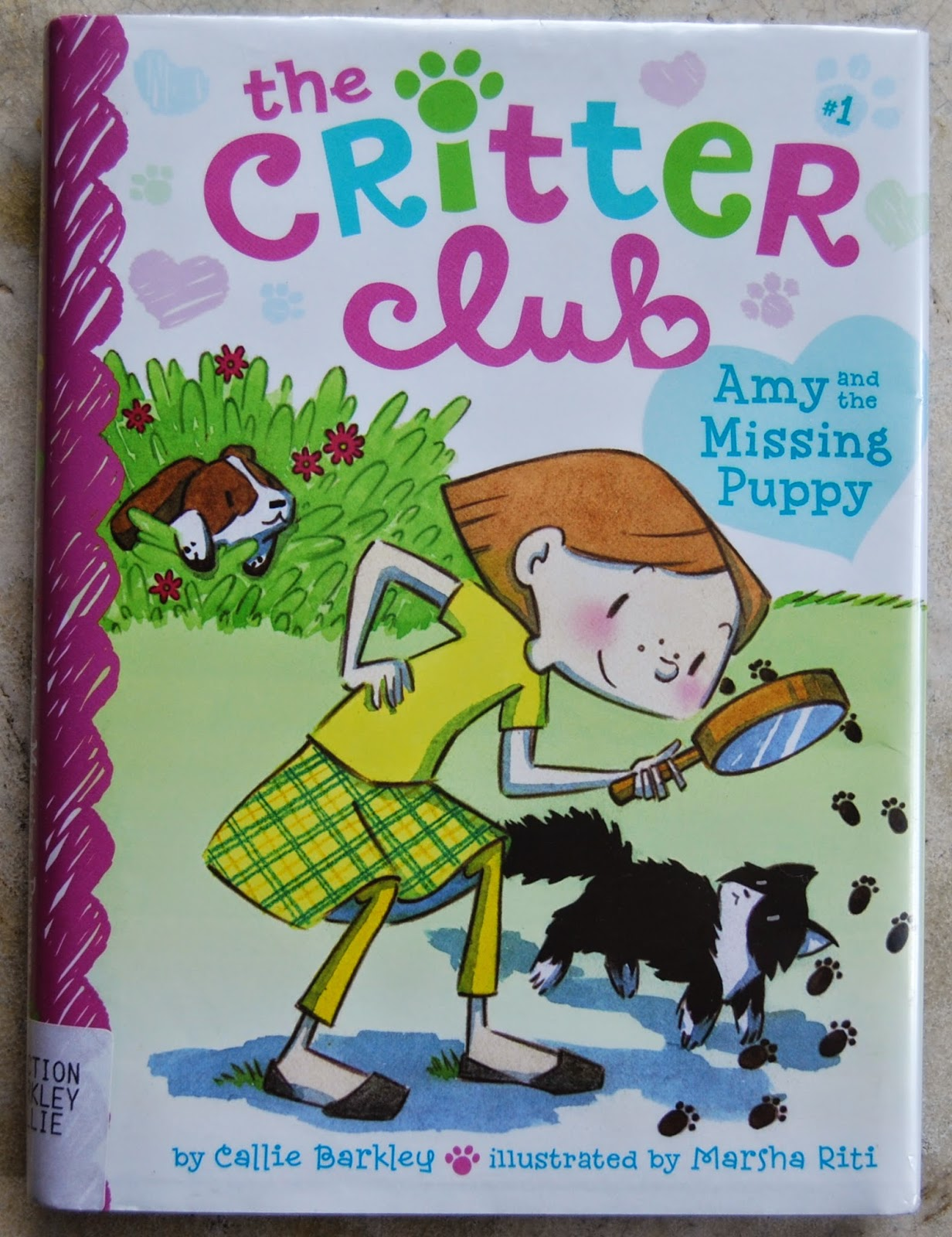 ONE GREAT BOOK The Critter Club Is A Good Early Chapter Book