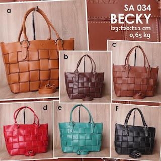 Jual Online Handbag Wanita Unik Harga Murah 65 Ribuan - Becky SA 034