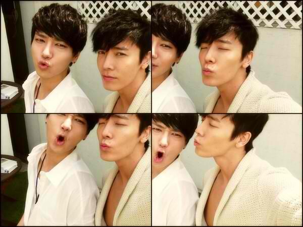 Donghae & Yesung Selca