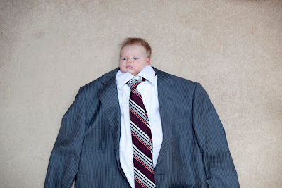 baby in a suit funny