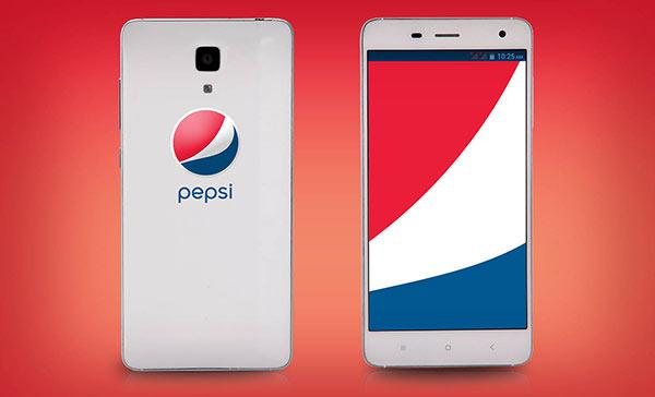 smartphone pepsi