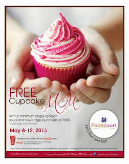 Free cupcake for Mom!