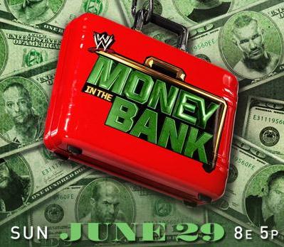 logotipo oficial de money in the bank, maletin de dinero en el banco en su nuevo logo de ppv