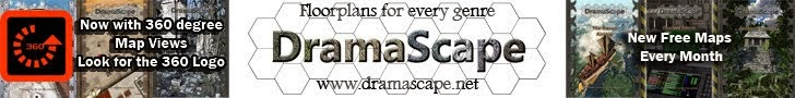 Dramascape on DriveThruRPG
