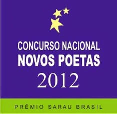Concurso Nacional Novos Poetas 2012 - Prêmio Sarau Brasil