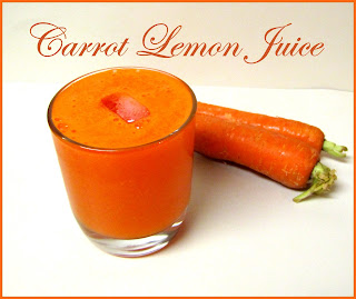 Carrot Lemon Juice
