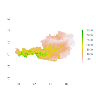 Follow Up on Spatial Overlays with R – Getting Altitude for a Set of Points