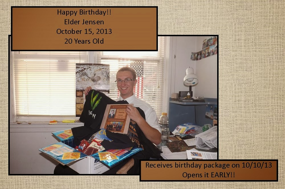 October 10, 2013 Early Birthday!!