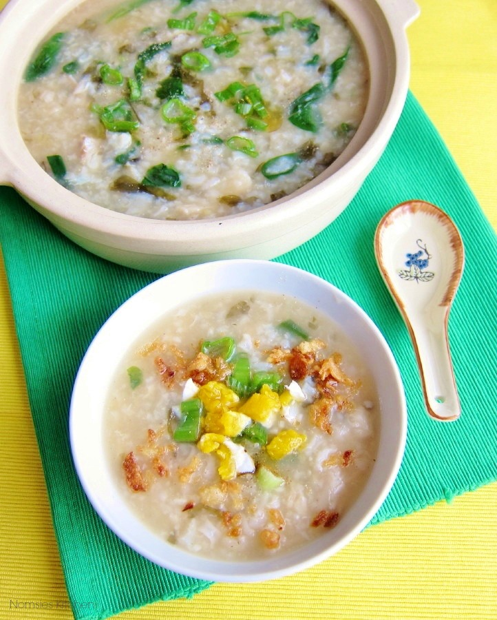 Fish Congee Recipe from Nomsies Kitchen