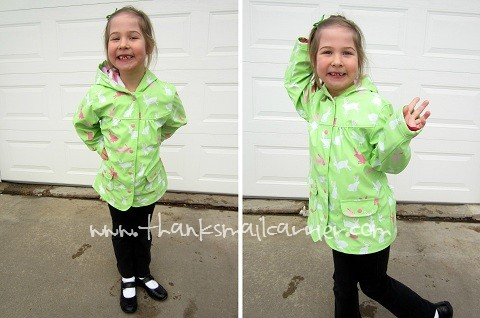 Hatley girls raincoat review