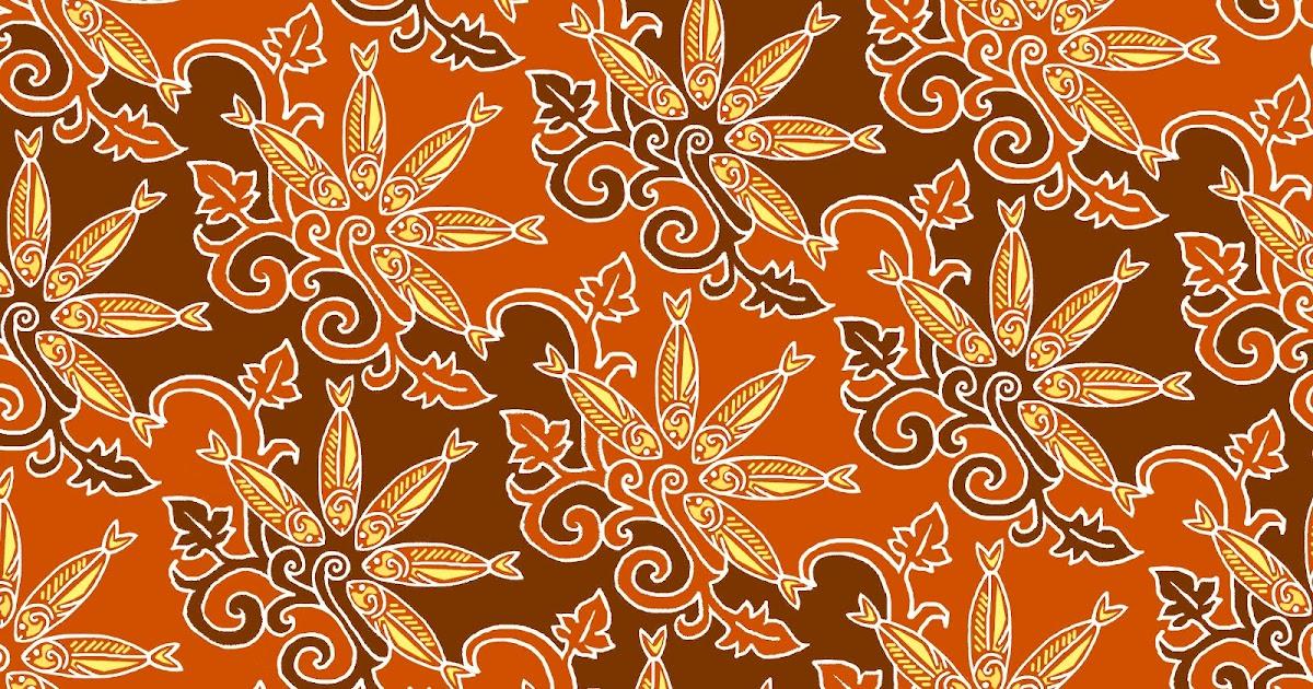 Batik Melayu Bernama Ikan Tamban - Budaya Bangsa