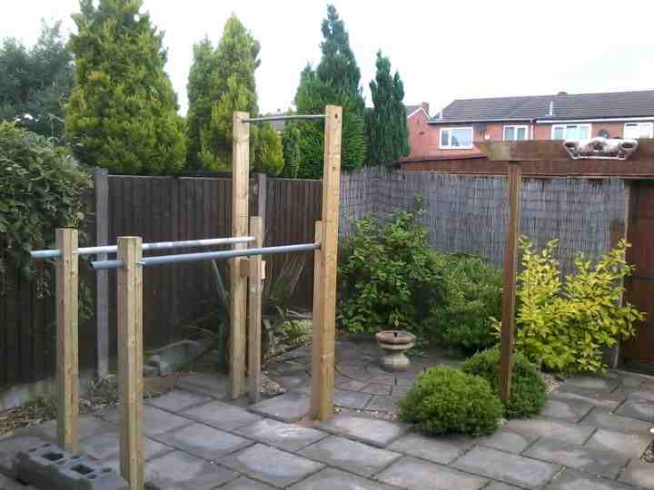 Running Riot: Home made chin up bar!