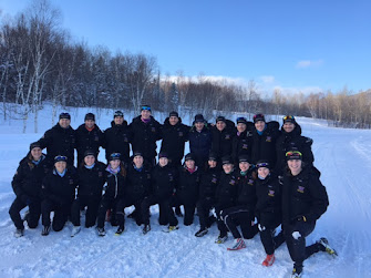 NORDIC SKI TEAM IN QUEBEC