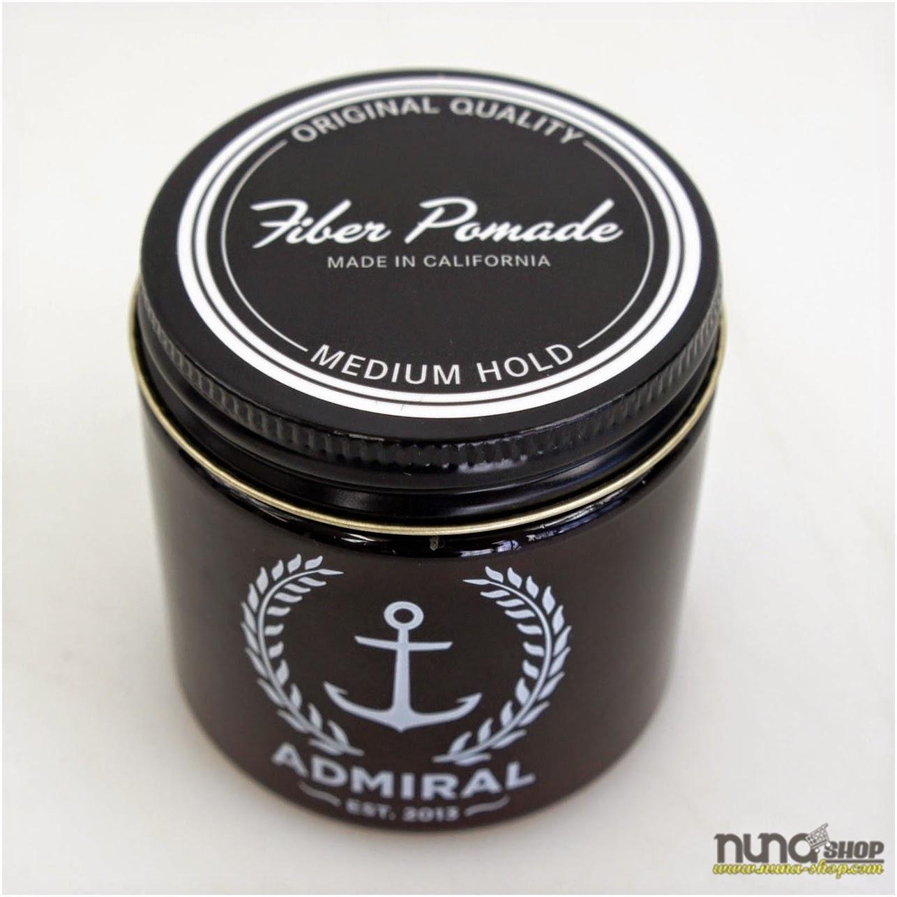 Pomade Admiral Medium Hold Original 100% USA (Waterbase)