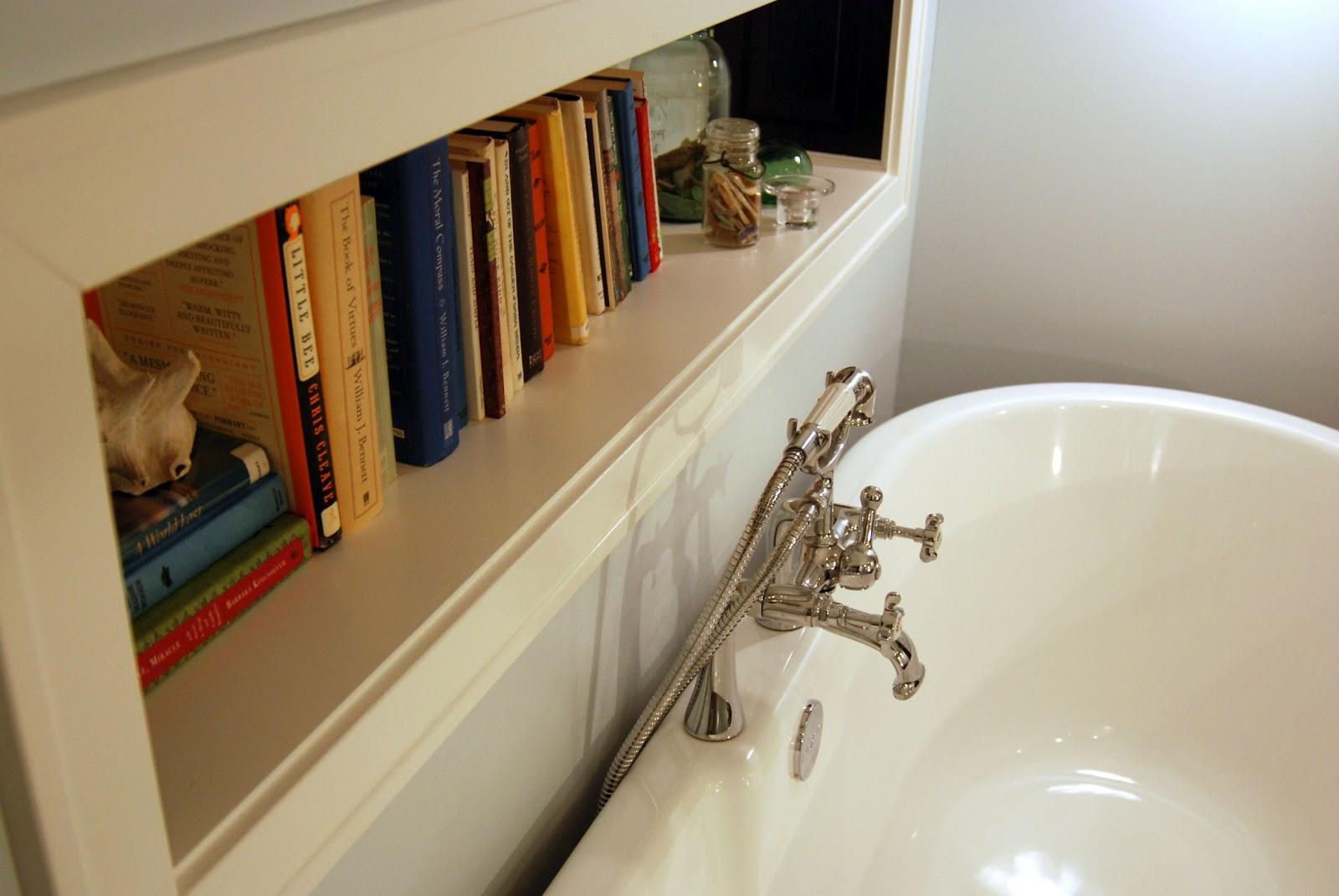 Shelf Behind Clawfoot Tub Reduced