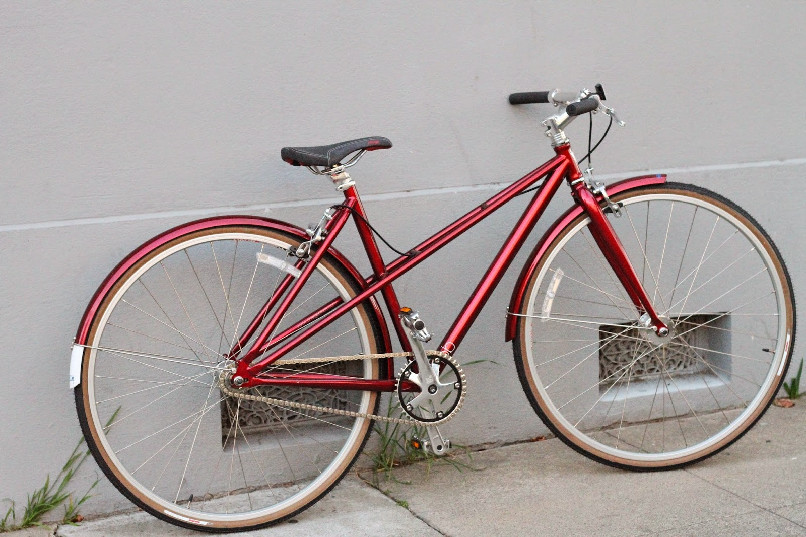 Red Charge Single Speed