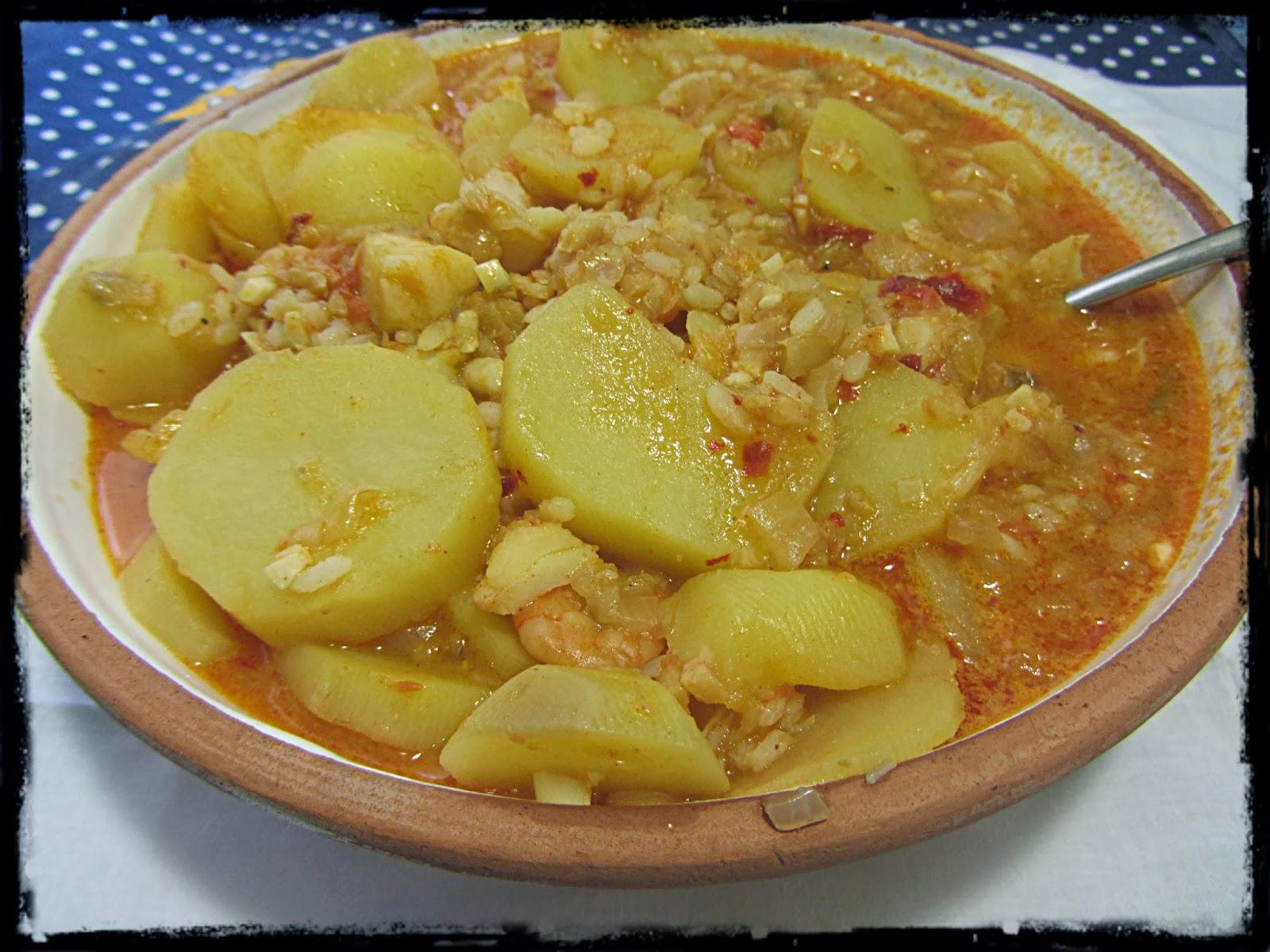 Patatas con arroz y bacalao de mi casa recetas de cocina for Cocina bacalao con patatas