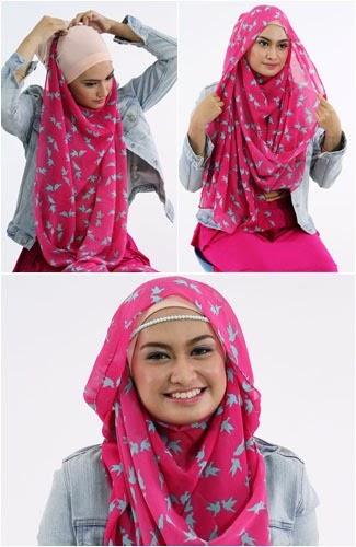 Model Hijab Modern dan Simple
