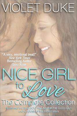 Book Blitz: Promo/Excerpt + Giveaway – Nice Girl to Love: The Complete Collection by Violet Duke