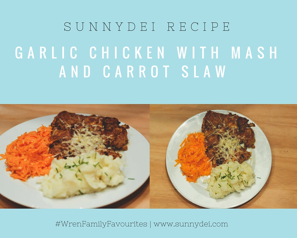 Lithuanian recipe tender garlic chicken with mash and carrot slaw it will give you chicken breasts which are very moist tender and full of flavour the carrot slaw goes so incredibly well with the chicken and its forumfinder Image collections