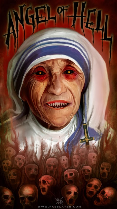 Teresa Calcutta angel of hell