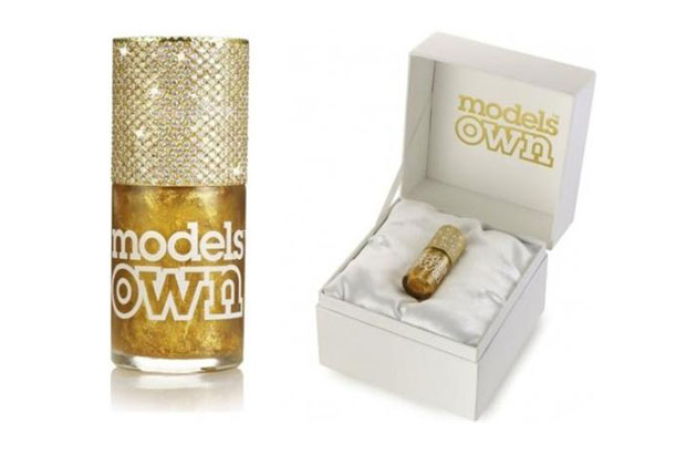 Segundo esmalte mais caro Gold Rush Couture