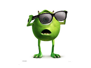 Monsters University Character Funny Mike Wazowski HD Wallpaper