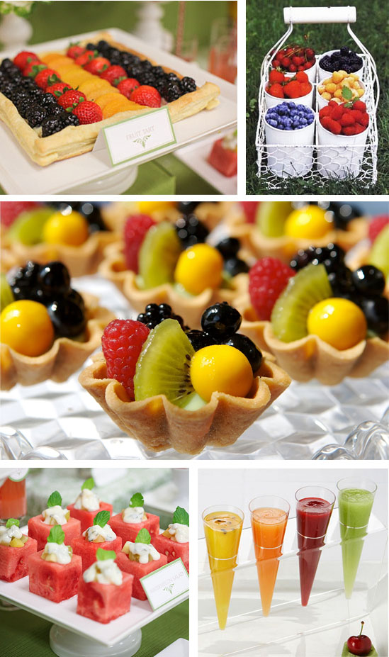 Fruit display ideas