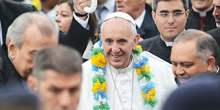#JMJRio2013: Papa Francisco visita Comunidade de Varginha