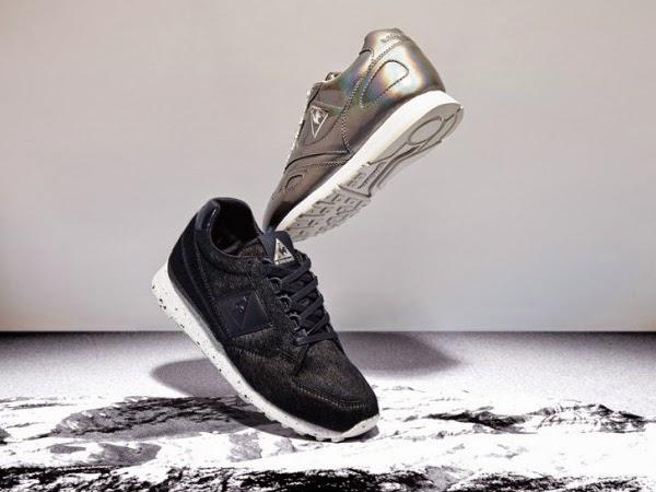 zapatillas deportivas Asos White y Le Coq Sportif
