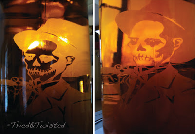 Baron Samedi Glass Etch | Tried & Twisted